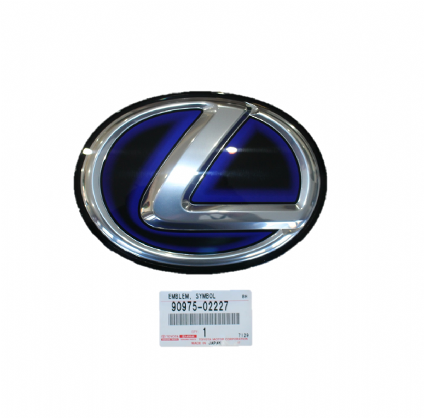 Genuine Lexus CT200H ZWA10 Front Grille Emblem Badge 2010-2016 90975-02227, 9097502227
